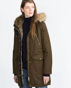 PARKA-View all-Outerwear-WOMAN | ZARA United States