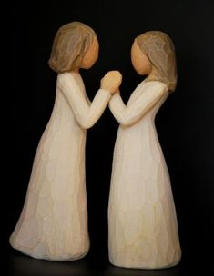 Willow Tree Figurine Sisters by Heart--------- My Sister, Becky bought me this one for Christmas 2013