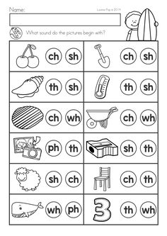 Digraphs Worksheets, Literacy Worksheets, First Grade Worksheets, Math Literacy, Reading Worksheets, Comprehension Worksheets, Reading Comprehension, Phonics Reading, Teaching Phonics