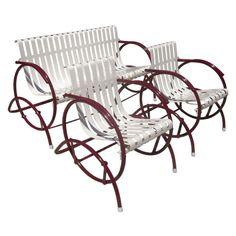 Garden Furniture Wrought Iron Table And Chairs Patio | EBay | Exterior |  Pinterest | Iron Table, Garden Furniture And Wrought Iron.