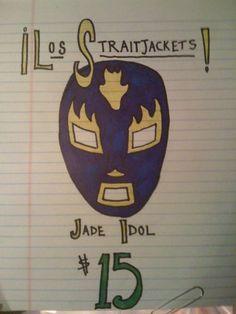 Los Straightjackets/Jade Idol Sign