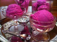 Raw Prickly Pear Ice cream