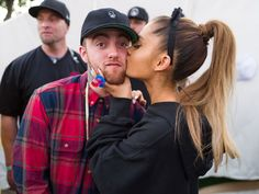 Mac Miller and Ariana Grande Sing Onstage Together