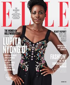 Our November issue has eight incredible cover stars. Lupita Nyong'o
