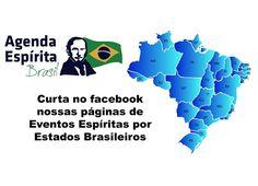 Curta nossas páginas de Eventos Espíritas por Estados brasileiros - http://www.agendaespiritabrasil.com.br/2016/12/24/curta-nossas-paginas-de-eventos-espiritas-por-estados-brasileiros/