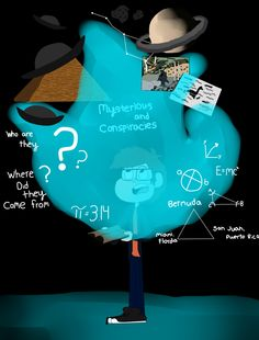 Older Dipper Pines By:Jasmine Martinez.....OMG It's mysteries and conspiracies not mysterious.....sorry for my mess up