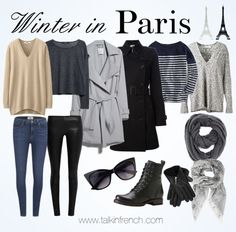 Pack-For-Your-Vacation-In-France/ france winter, tan france, paris winter f Winter Outfits, Paris Outfits, Mode Outfits, Winter Travel Outfit, France Outfits, Paris Mode, Looks Black, Travel Wardrobe, French Capsule Wardrobe