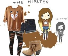 """""""The Hipster"""" by kamila-2013-12 on Polyvore"""