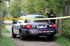 Police cordon off a laneway behind a North Syndicate Street home, where Murray Keesic was allegedly assaulted and robbed,  in this September... #tbay