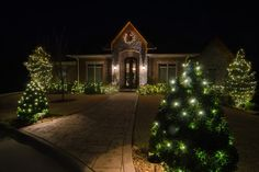 #Landscape Lighting: #Christmas & Holidays Lighting. Create a sparkling light display each night during the #holiday season with these tips and tricks given by Green Outdoor Lighting.