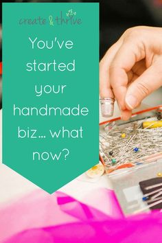 Hey Thriver,    You've started your handmade business. But you're still in the beginning, and know you have so much to learn!    Lucky for you – I've been right where you are. And I've created a bunch of resources to help you do just that. Etsy Business, Craft Business, Creative Business, Business Tips, Naming Your Business, Starting Your Own Business, Homemade 3d Printer, Sculpture Projects, Etsy Store