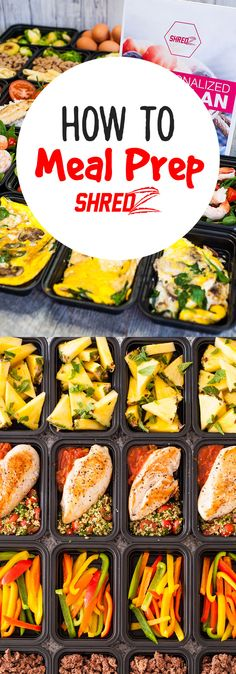 Start meal prepping today and reach your health and fitness goals! #shredzkitchen #weightloss #healthy #mealprep