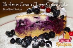Blueberry Cream Cheese Coffee Cake   Flickr - Photo Sharing!