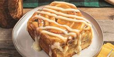 Make Gaston's giant cinnamon rolls as a treat for the whole family
