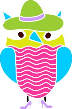 Quickly and easily paint a fun and unique design in your childs playroom, bedroom and more with our Miss Adventure Owl Stencil!