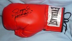 Manny Pacquiao Signed Red Everlast Boxing Glove « Impulse Clothes