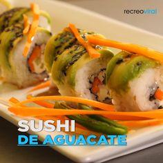 Easy Cake Recipes - New ideas Sushi Recipes, Asian Recipes, Mexican Food Recipes, Appetizer Recipes, Vegetarian Recipes, Cooking Recipes, Healthy Recipes, Deli Food, Sushi Food
