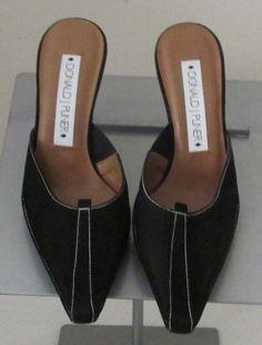 Donald J Pliner black sandals Sz 6 M, NEW