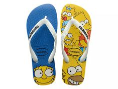 Havaianas lança nova coleção de chinelos dos Simpsons - Geek Publicitário