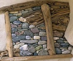 land art in hungary-stone balance and driftwood by tamas kanya Pebble Mosaic, Pebble Art, Mosaic Art, Mosaic Garden, Into The Woods, Driftwood Projects, Driftwood Art, Driftwood Sculpture, Driftwood Ideas