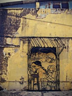 Penang Street Art (Rope Walk)