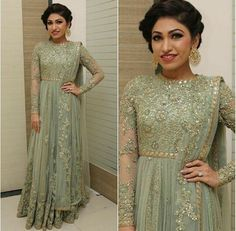 Indian Pakistani Bridal Anarkali Suits & Gowns Collection can find Anarkali suits and more on our website.Indian Pakistani Bridal Anarkali Suits & G. Indian Gowns Dresses, Pakistani Wedding Dresses, Pakistani Outfits, Indian Outfits, Indian Party Gowns, Wedding Gowns, Bridal Anarkali Suits, Anarkali Dress, Simple Anarkali Suits
