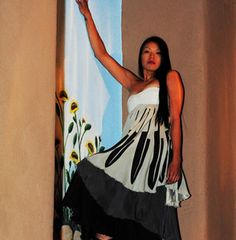 Eagle Feather Couture Dress by Patricia of Project Runway