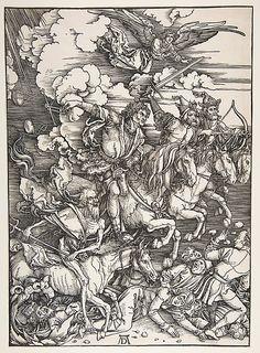 Albrecht Durer, The Four Horsemen of the Apocalypse