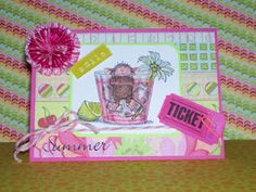 cathies pARTies: MY CARD FOR A CHALLENGE @ HOUSE MOUSE & FRIENDS MONDAY CHALLENGE BLOG