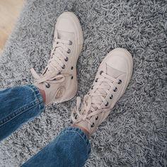 "Danielle Ward | LittleFashBird on Instagram: ""S A S S Y @converse All Star newbs ✨ | @officeshoes """