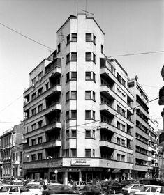 Savulescu and Herivan, 1 Tache Ionesco str Bucharest Romania, Paris, Bauhaus, Time Travel, Layouts, Dan, Buildings, Memories, Sculpture