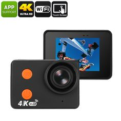 Waterproof 4K Sports Action Camera - Bare Metal Body, 4K 30FPS, 160-Degree Lens, 20MP CMOS, 2 Inch Display, WiFi, 10M Waterproof - This Waterproof 4K Sports Action Camera comes with a 20MP CMOS sensor that lets you shoot absolutely stunning video and photographs.