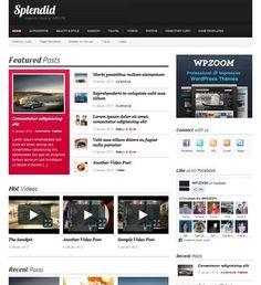 Beautiful Premium WordPress Theme