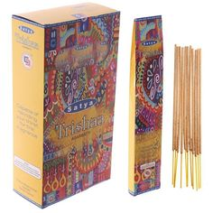 Satya Incense Sticks - Trishaa (12 Packs) http://ift.tt/2kTC6Z8