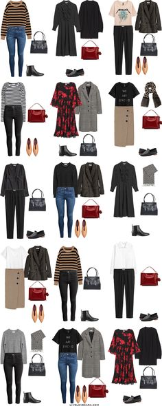 On Wednesday I posted an interchangeable capsule wardrobe for when your work, and personal wardrobe are combined. It was requested with a.....