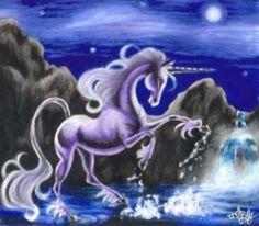 Crystal Lake Unicorn by pegacorn on DeviantArt
