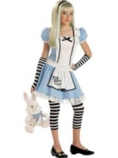 Alice in Wonderland Costume for Girls-Party City