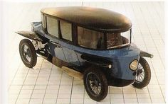 Rumpler Tropfenwagen, 1921-1925  Many of Dr. Porsche's ideas were inspired by Mr. Rumpler's designs!