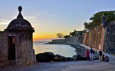 City Wall, Old San Juan, Puerto Rico.   Flickr - Photo Sharing!