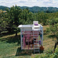 DIY : Une cabane mezzanine pour le jardin   HOME & GARDEN