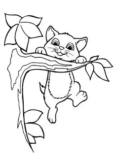 15 lovely kitten coloring pages for your little ones