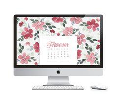 Desktop Calendar 2017 | Free Desktop Calendar | watercolor desktop ...