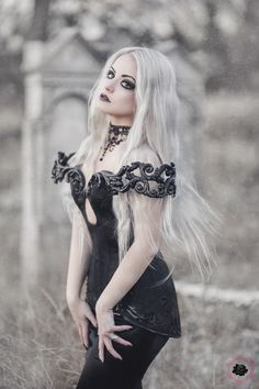 Model: Silverrr Photo: Aneta Pawska - Enchanted Stories Clothing: Royal Black Couture & Corsetry Find more on G&A Magazine issue 10 Welcome to Gothic and Amazing |www.gothicandamazing.com
