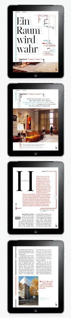 GQ Magazine iPad app | Abduzeedo Design Inspiration