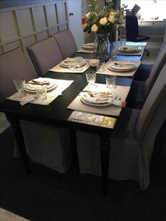 Annywi deko wohnung ikea ingatorp esszimmer wohnzimmer for Ikea silver spring