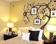 Creative Wall Painting Techniques | Creative Wall Painting Ideas Bedroom Wall painting