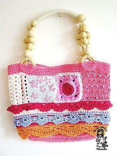 Summer crochet purse -- for inspiration!