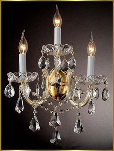 Maria Theresa Wall Sconces Gallery Model: WX1083