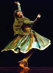 Kathak is one of the eight Indian classical dance forms, originated from northern India and originates with nomadic Kathaks or storytellers of ancient northern India, who added hand and facial gesture and music to their storytelling. Its current form contains the remains of temple and ritual dances, and the influence of bhakti movement. Since the 16th century onwards absorbs certain characteristics of dance and dance Persian Central Asia that were imported by the royal courts of the Mughal…