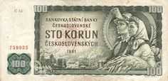 Money from previous Czechoslovakia - Numismatic Coins, Money Notes, My Roots, European History, Bratislava, My Heritage, Czech Republic, Eastern Europe, Vintage World Maps